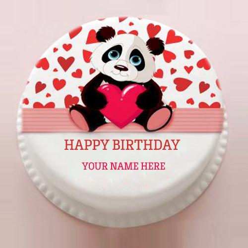 Edit Name On Birthday Cake Image