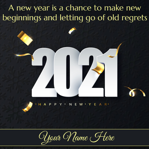 Whatsapp Profile Pics For Happy New Year 2021 With Name