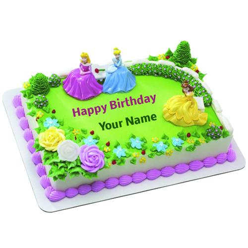 Birthday Cake Barbie Doll Edit Name