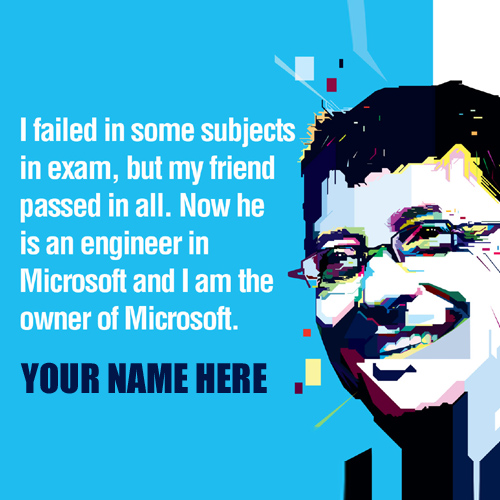 Beautiful Educational Quotes By Bill Gates With Name