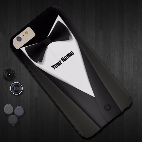 Write name on stylish mobile case profile pic