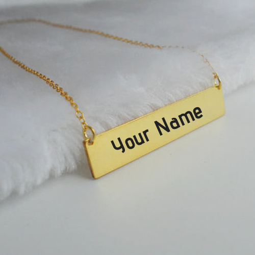 Write Name on Bible Verse Bar Necklace Profile Picture